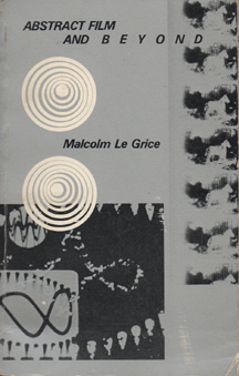 Abstract Film and Beyond Malcolm Legrice