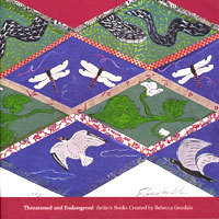 Threatened and Endangered: Artists Books Created  by  Rebecca Goodales by Rebecca Goodale
