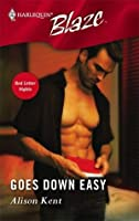 Goes Down Easy (Red Letter Nights, #2)
