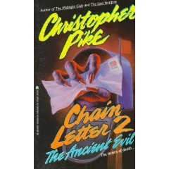 The Ancient Evil (Chain Letter #2) Christopher Pike