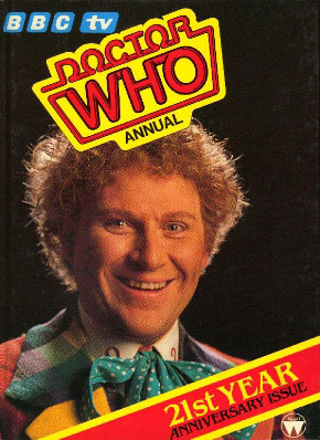 Doctor Who Annual   21st Year Anniversary Issue  by  Brenda Aspley
