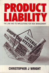 Product Liability  by  Christopher J. Wright