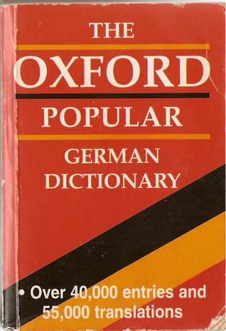The Oxford Popular German Dictionary  by  Neil Morris