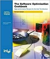 The Software Optimization Cookbook: High-Performance Recipes for the Intel Architecture