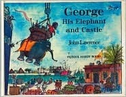 George, His Elephant and Castle  by  John Lawrence