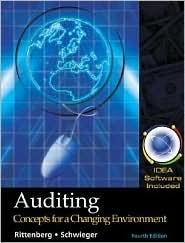 Auditing Concepts for Changing Environment  by  Larry E. Rittenberg