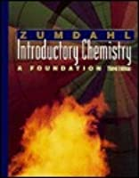 Introduction to Chemistry a Foundation