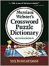Merriam Websters Crossword Puzzle Dictionary  by  Merriam-Webster