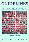 Guidelines: A Cross-Cultural Reading/Writing Text  by  Ruth Spack