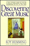Discovering Grt Music -Op/111  by  Roy Hemming