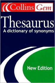 Collins Gem Thesaurus  by  Collins Publishers