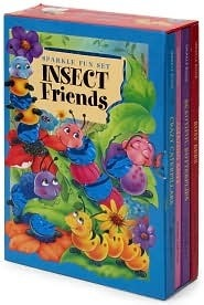 Insect Friends: Sparkle Fun Set Beautiful Butterflies, Crazy Caterpillars, Amazing Ants, and Busy Bees  by  Sue Whiting