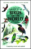 Complete Checklist of the Birds of the World Richard Howard