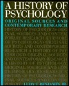 A History Of Psychology: Original Sources And Contemporary Research  by  Ludy T. Benjamin Jr.