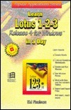 Learn Lotus 1 2 3 Release 4 For Windows In A Day (Popular Applications Series) Ed Paulson