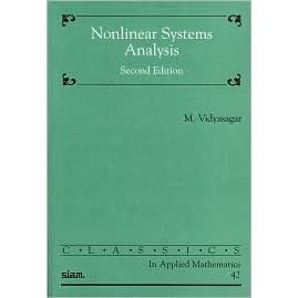 Nonlinear Systems Analysis - M. Vidyasagar