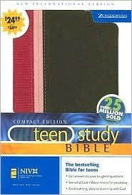 Niv Compact Teen Study Bible  by  Anonymous