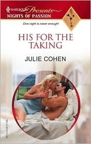 His for the Taking  by  Julie Cohen
