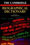 The Cambridge Biographical Dictionary David Crystal