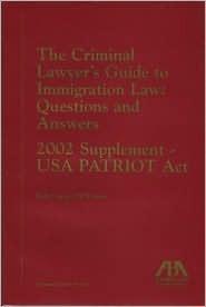 Criminal Lawyers Guide to Immigration  by  Robert James McWhirter
