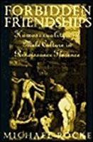 Forbidden Friendships: Homosexuality and Male Culture in Renaissance Florence
