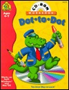 Dot-to-Dot CD/ROM and Workbook, Ages 4-7 Barbara Gregorich