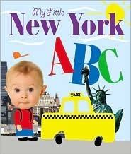 My Little NYC ABC  by  Cliff Road Books