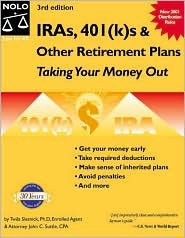 IRAs, 401(k)S & Other Retirement Plans: Taking Your Money Out Twila Slesnick