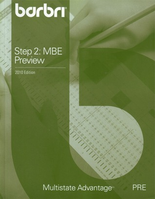 Step 2: MBE Preview  by  BAR/BRI