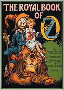 The Cowardly Lion of Oz (Oz, #17)  by  Ruth Plumly Thompson