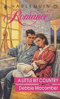 A Little Bit Country (Harlequin Romance # 3038)  by  Debbie Macomber