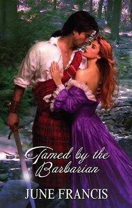 Tamed By The Barbarian (Harlequin Historical #245)  by  June Francis