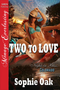 Two to Love (Nights in Bliss, Colorado, #2)  by  Sophie Oak