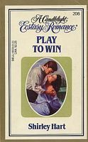 Play to Win (Candlelight Ecstasy Romance, #208)  by  Shirley Hart