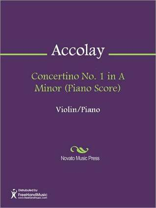 Concertino No. 3 in E Minor (Violin Part) Jean Batiste Accolay
