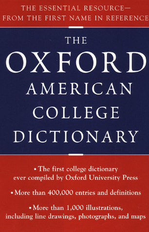Oxford American College Dictionary Oxford University Press