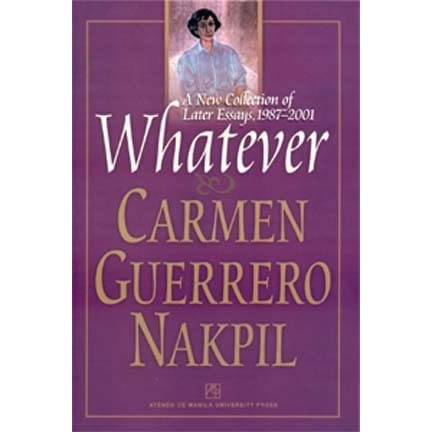 essays of carmen guerrero nakpil