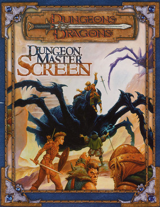 Dungeon Masters Screen (Dungeons & Dragons, 3rd Edition)  by  Wizards of the Coast