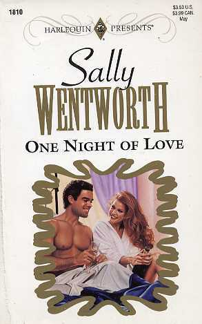 One Night Of Love (Harlequin Presents #1810)  by  Sally Wentworth