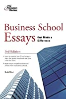 Business School Essays That Made a Difference