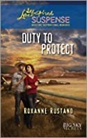 Duty to Protect (Big Sky Series, #5)