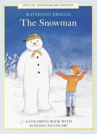 The Snowman Coloring Book  by  Maggie Downer