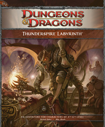 Thunderspire Labyrinth: An Adventure for Characters of 4th-6th Level  by  Richard Baker