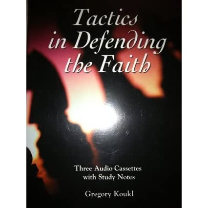 christians sharing a gospel in the book tactics by gregory koukl A game plan for discussing your christian convictions by: gregory koukl   the book gives practically examples of how to share your faith in the most non.