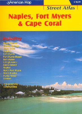 American Map Naples, Fort Myers & Cape Coral  by  Hammond World Atlas Corporation