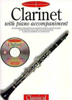 Solo Plus: Clarinet with Piano Accompaniment, with CD David Pearl