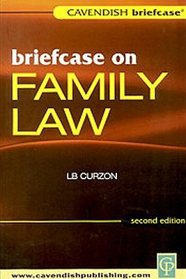 Briefcase on Family Law  by  Curzon