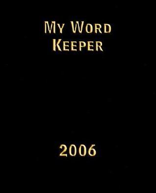 My Word Keeper Help Guide  by  Nathan Du Pree