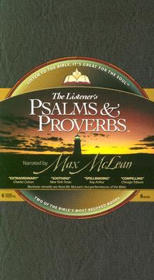 Listeners Psalms & Proverbs-NIV  by  Max McLean