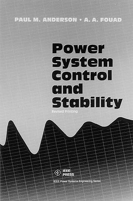 Power System Control And Stability Paul S. Anderson
